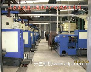 山东高唐蓝山集团600T/D花生冷榨生产线